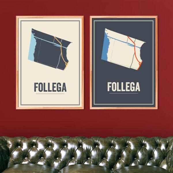 Follega poster kaarten