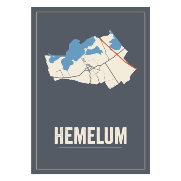 kaarten poster Hemelum
