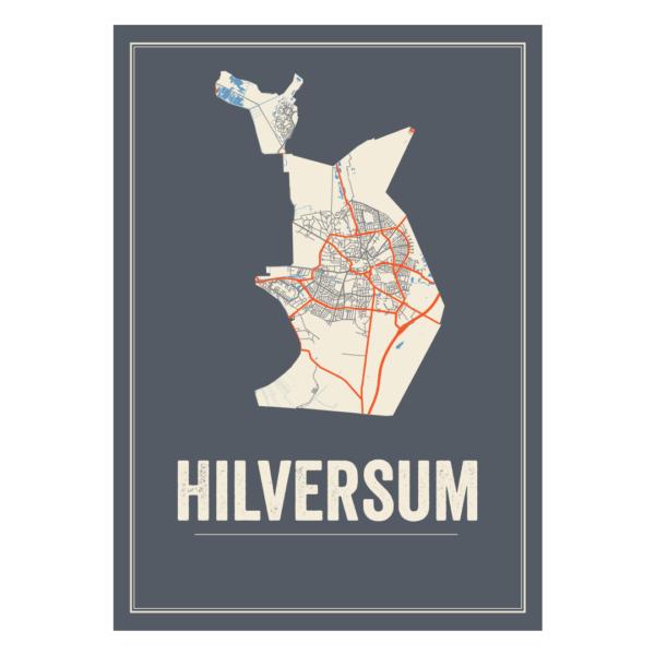Hilversum poster kaarten