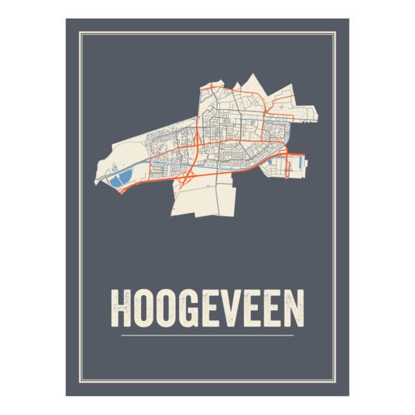 Poster van Hoogeveen, Drenthe