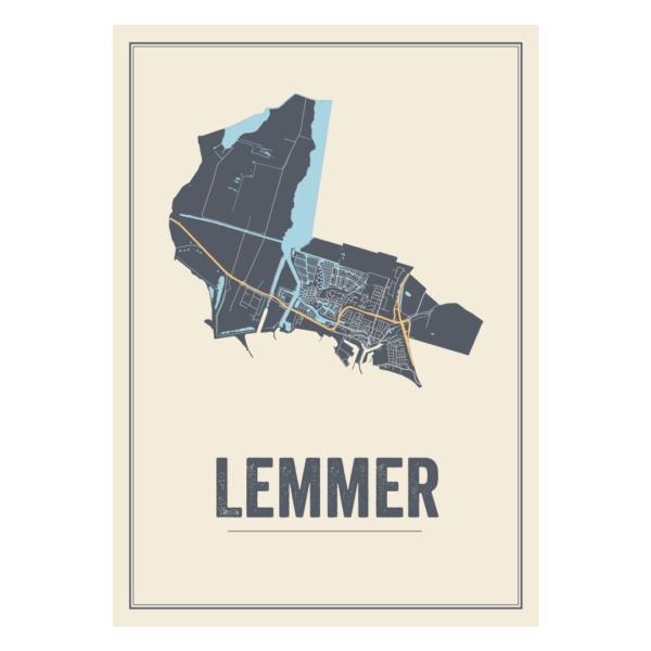 Lemmer poster kaarten