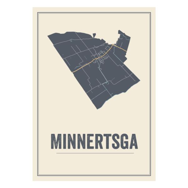 poster kaarten Minnertsga