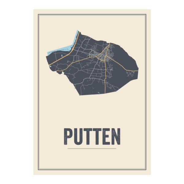 posterkaart Putten