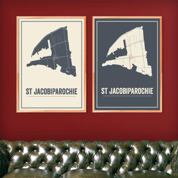 poster van Sint Jacobiparochie