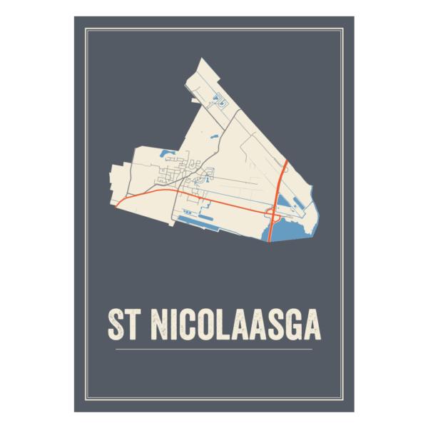 Sint Nicolaasga poster
