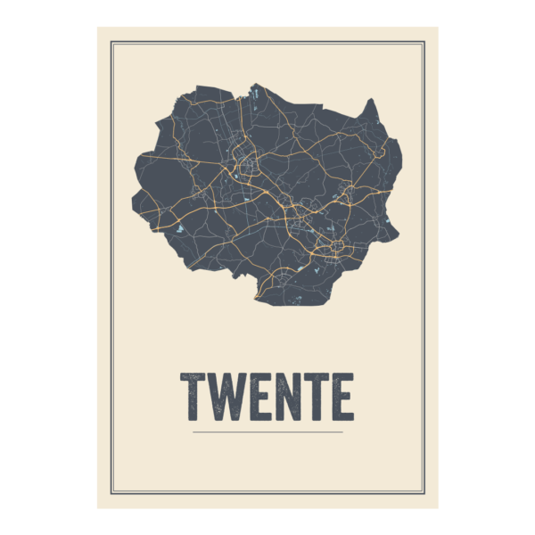 poster van regio Twente