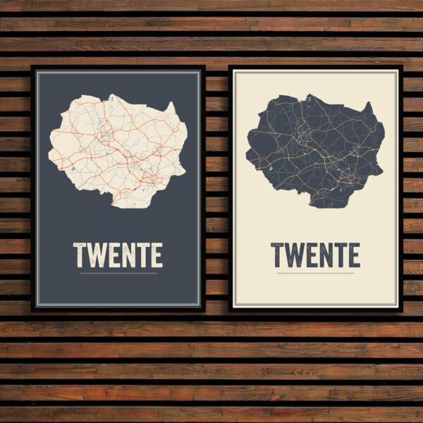 Twente regio poster