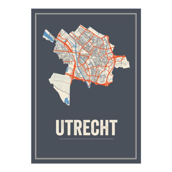 poster van Utrecht Stad