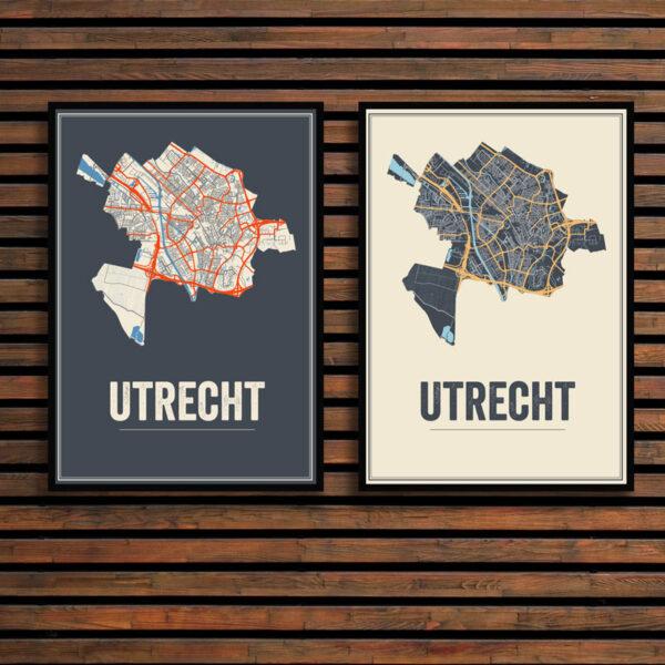 Utrecht Stad posters