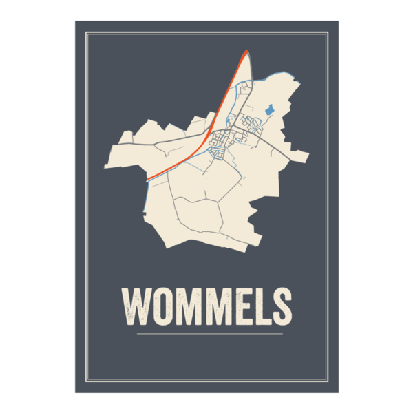 wommels dorp poster
