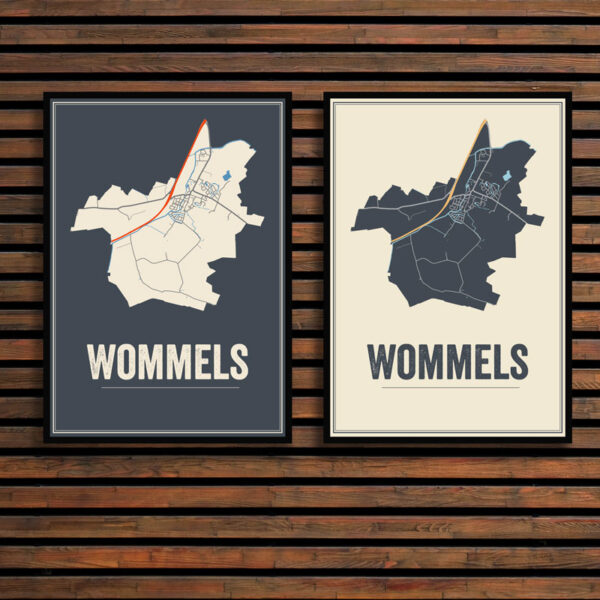 Wommels poster