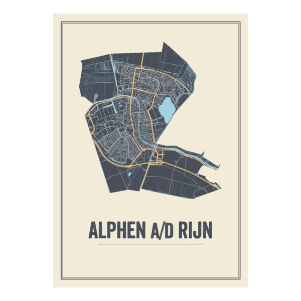 stadskaart alphen aan den rijn