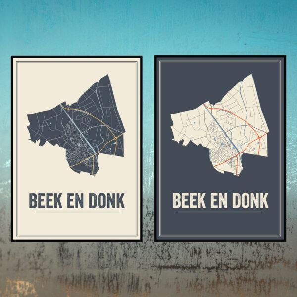 Beek en Donk poster