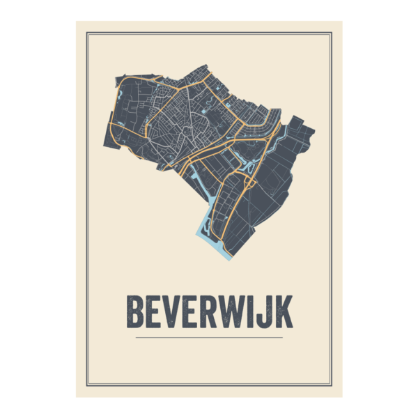 poster van Beverwijk, Noord Holland