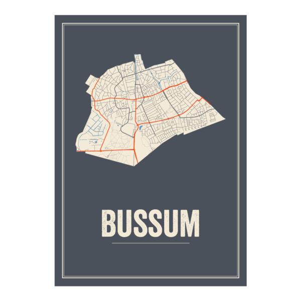 stadskaart Bussum
