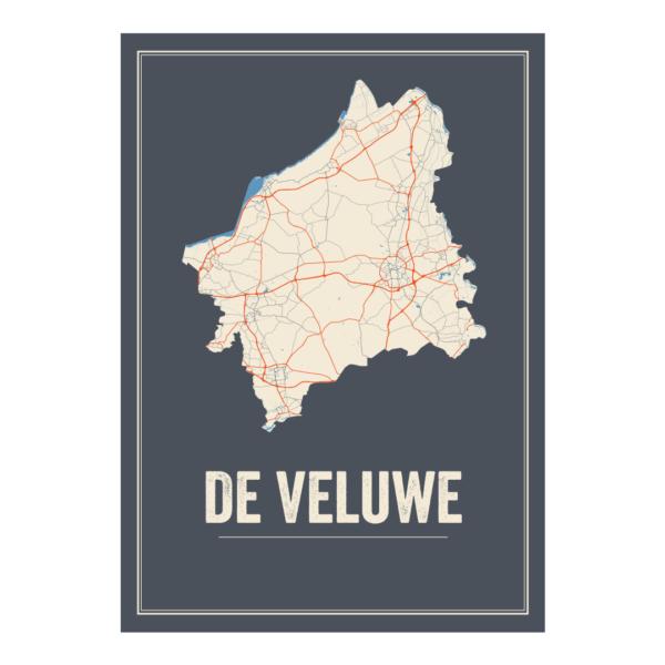 De Veluwe poster