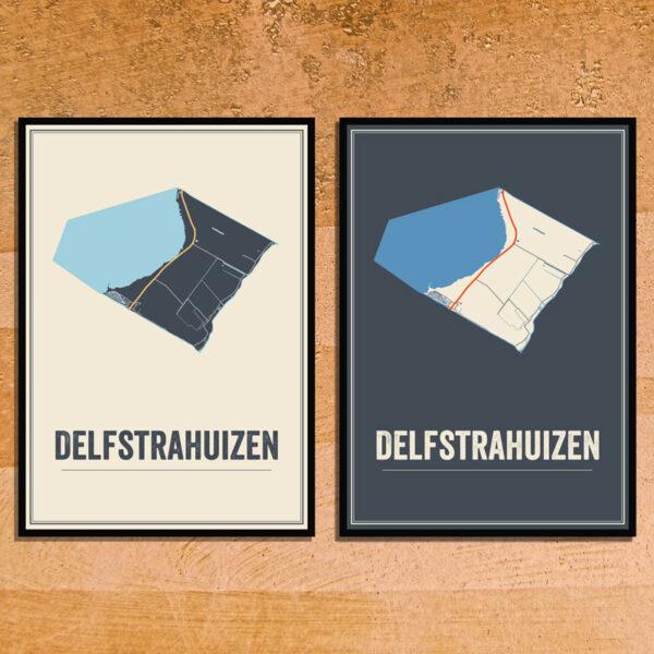 Delfstrahuizen poster