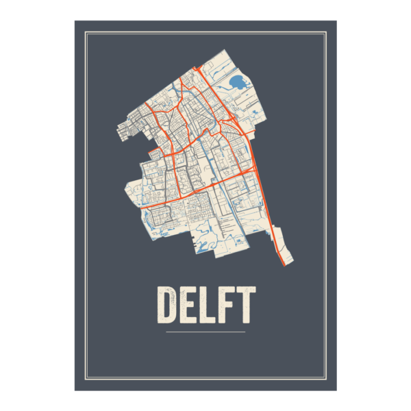 Delft posterkaarten