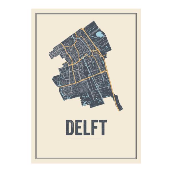 stadskaart Delft