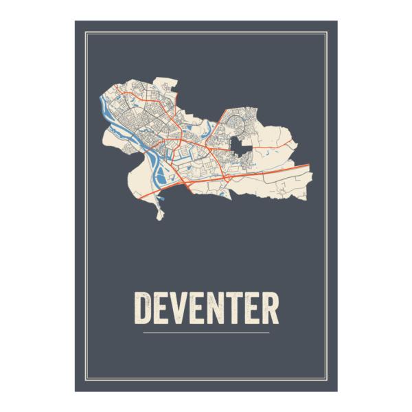 Deventer stadskaart