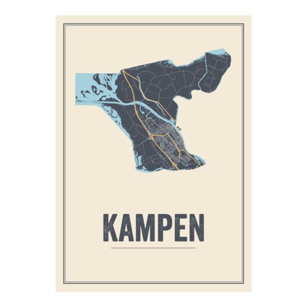 poster van Kampen, Nederland