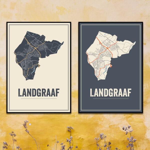Landgraaf poster kaarten