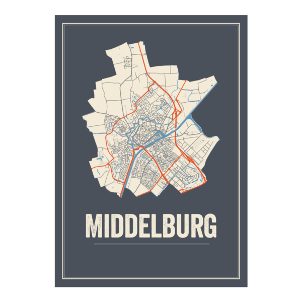Middleburg stads poster