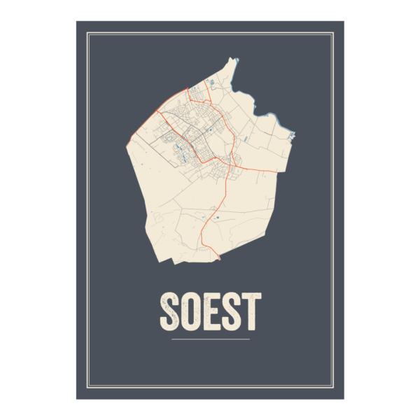 Soest poster kaarten