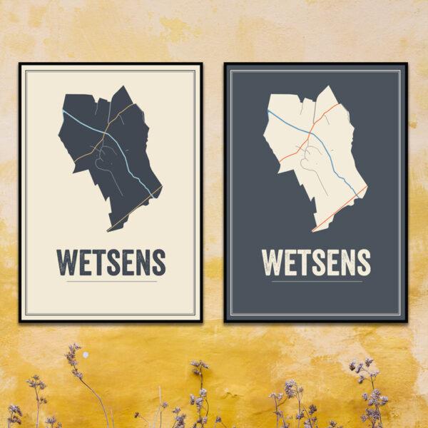 Westens, Friesland poster