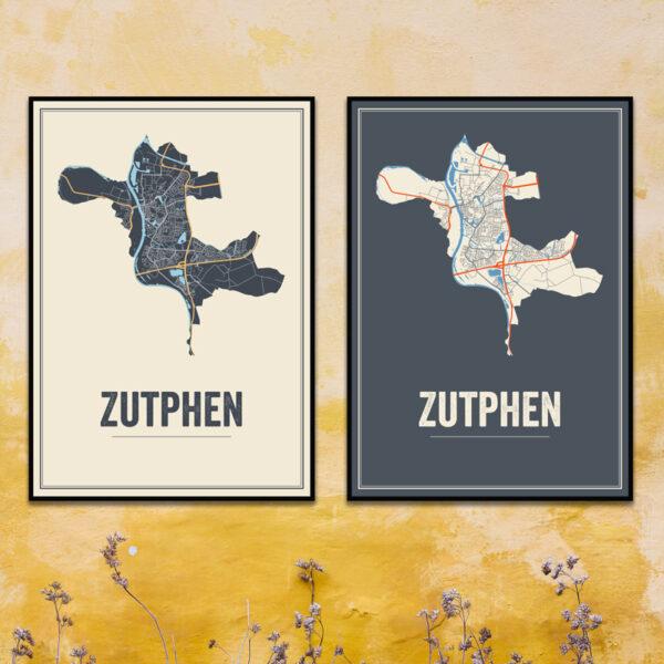 Zutphen poster kaarten