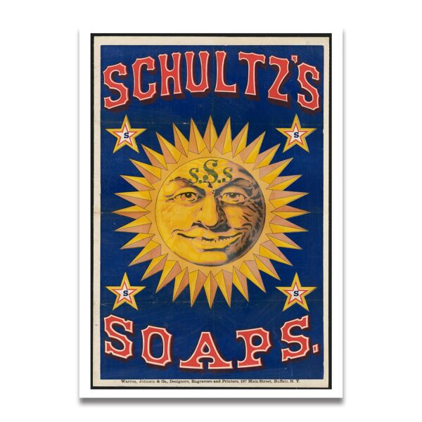 Soap reclame poster