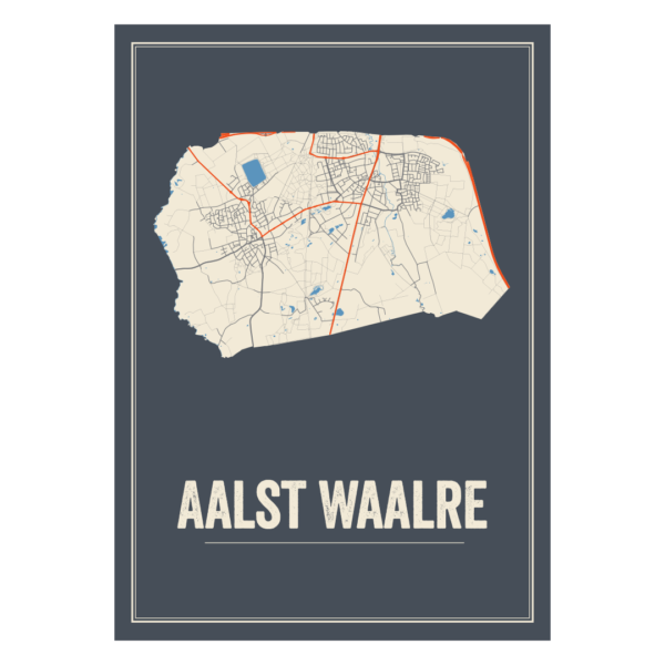 Aalst Waalre poster kaarten