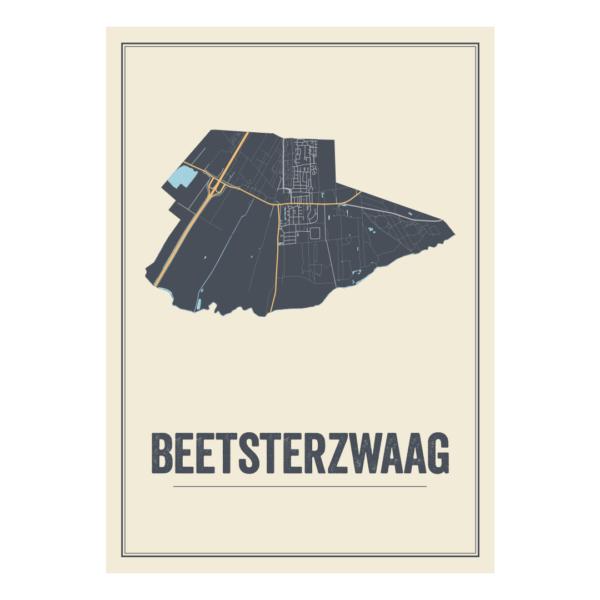 Beetsterzwaag poster in de Nederlandse provincie Friesland