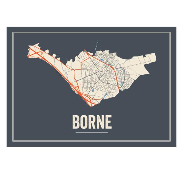 Borne, Nederland poster