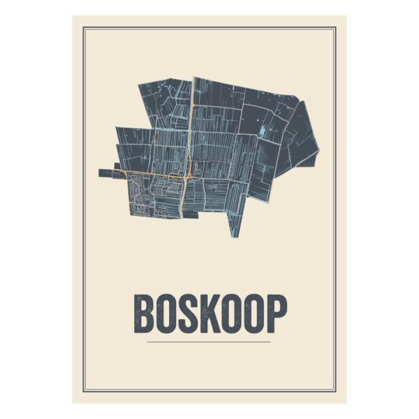 poster kaarten Boskoop