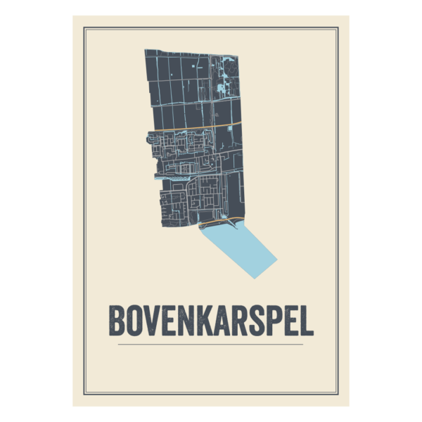 Bovenkarspel, Noord-Holland poster
