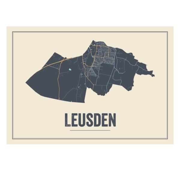 moderne poster Leusden