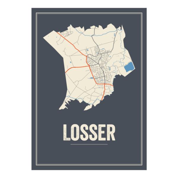 graphical poster van Losser
