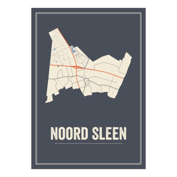 poster van Noord Sleen, Nederland