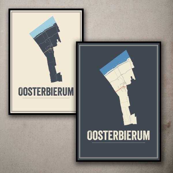 Oosterbierum kunst poster