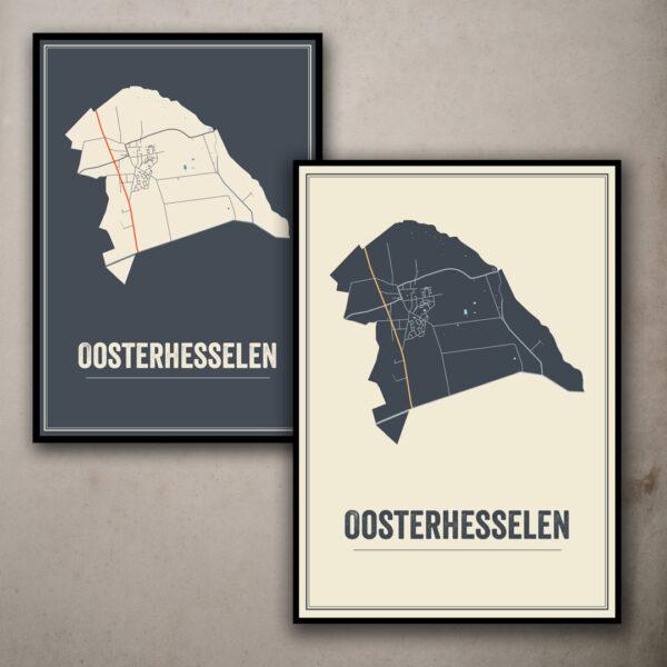 Oosterhesselen, Drenthe posters