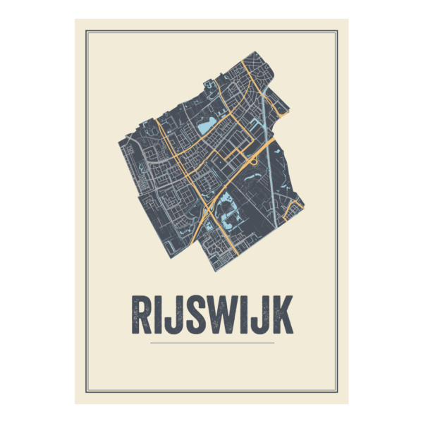 stadskaart Rijswijk