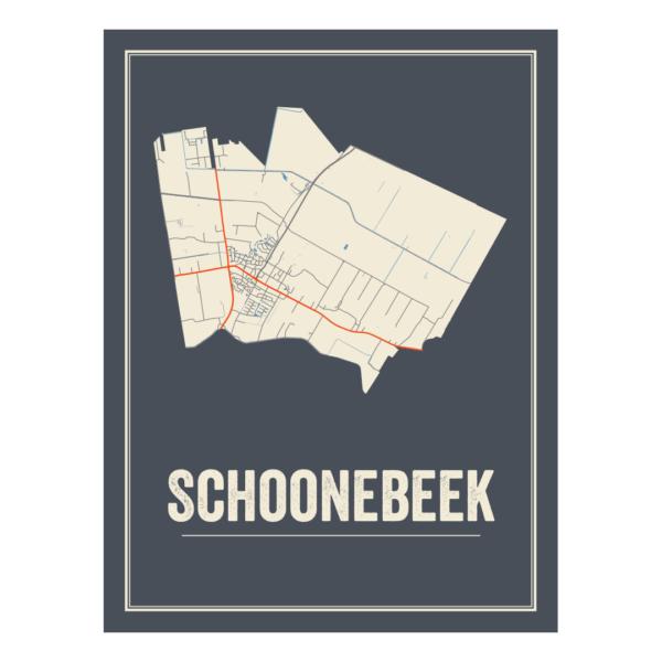 plattegrond posters Schoonebeek