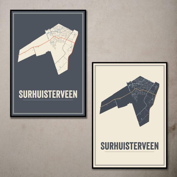 Surhuisterveen posters