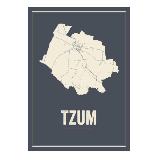 Tzum, Friesland poster