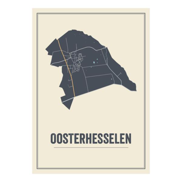 Kaaten posters Oosterhesselen, Drenthe