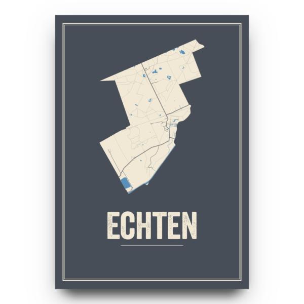 poster kaarten Echten
