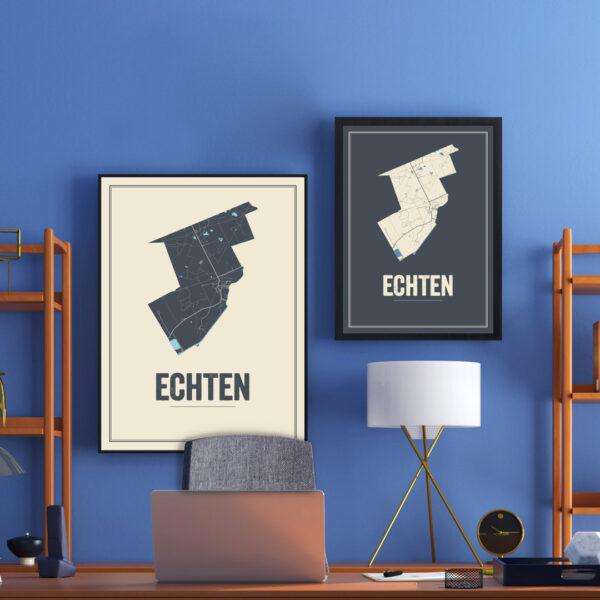 Echten posters