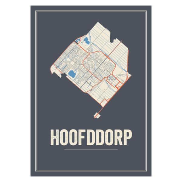 Hoofddorp stadskaart