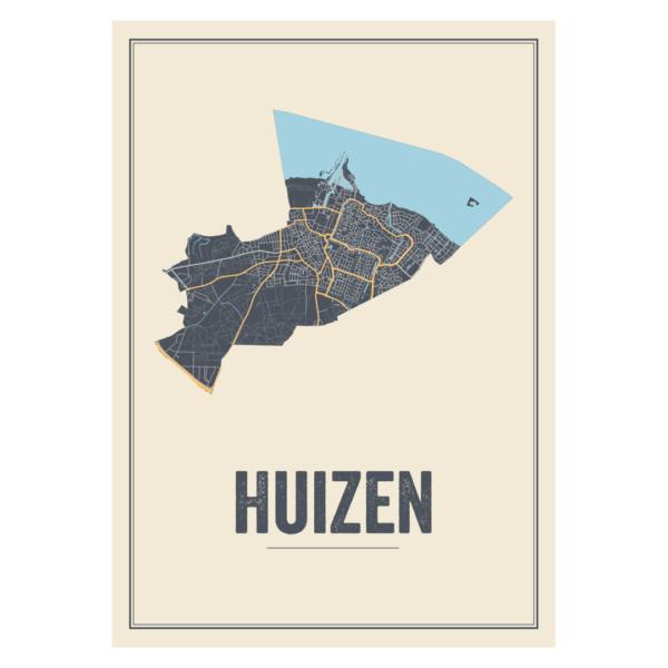 stadskaart Huizen